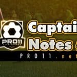 Captain Notes #1