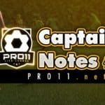 Captain Notes #2