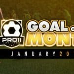 Goal of the month – January 2017
