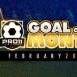 Goal of the month – February 2017