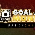 Goal of the month – March 2017